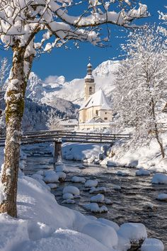 Winter Idyll by Barbara Seiberl-Stark (Bavaria, Germany)