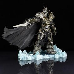 World of Warcraft Deluxe Collectible Fall of The Lich King Action Figure - Mythical Market