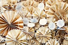 Confessions of a DIY-aholic: Antique Music Paper Ornaments