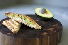 Chicken + avocado. It's not rocket science, but boy it's delicious.   Grab our Chook Jaffle today.