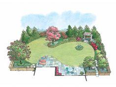 AFLFPW13415 - Landscape Plan from FloorPlans.com