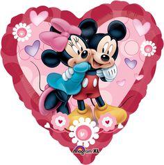 MICKEY & MINNIE HEART Jumbo