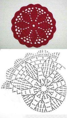Gráficos De Crochê -Lindos Motivos