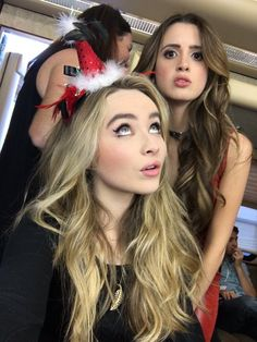 Sabrina Carpenter and Laura Marano