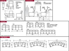 typical dimension for home theatre seating - Google Search