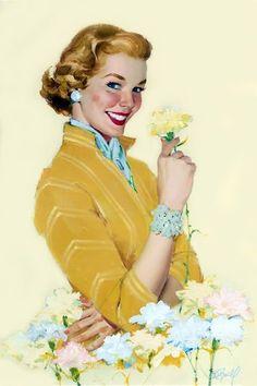 Al Buell - A Beautiful Flower - 1950′s