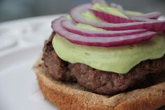 Avocado Ranch Burger!!!!!!  PERFECT for this weekend!