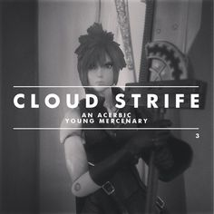 My Plastic Life   An Action Figure Collector Story   Cloud Strife by Peter Crafford, via Behance
