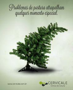 Campanha de Natal para a Cercicale, clínica da Coluna.