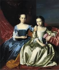 John Singleton Copley, Mary and Elizabeth Royall (1758) Romantic Realism