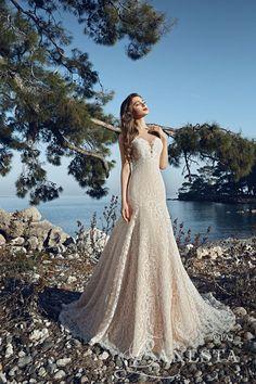 "LANESTA 2017 ""HEART OF THE OCEAN"" BRIDAL www.elegantwedding.ca"