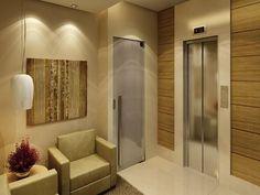 hall do elevador residencial - Pesquisa Google