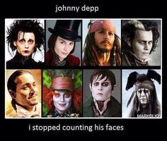 Awesome actor. Johnny Depp