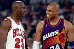 Charles Barkley vs. Michael Jordan.