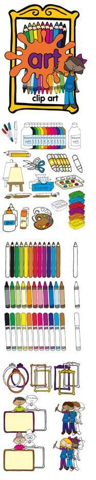 ART clip art set  freebie in the preview