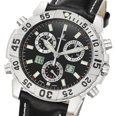 Astboerg Silverstone Herrenuhr AT720S Alarm-Chronograph