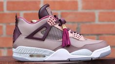 Air Jordan 4 'Louis Vuitton Don' Custom For Wale