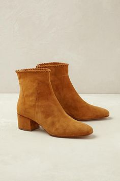 bootie love + suede + style + cropped jeans + skirt