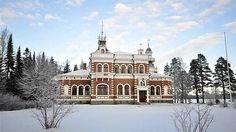Vuonna 1899 rakennenttu 2-kerroksinen Inhan ruukinkartano. Kuva: Westhouse Finland