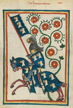 codex manesse | File:Codex Manesse Hartmann von Aue.jpg - Wikimedia Commons