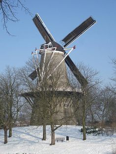 Flour mill De Seismolen, Middelburg, the Netherlands