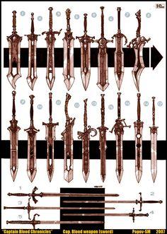 Popov-Sergey-Michailovich ~ Captain Blood Chronicles, swords (2007)