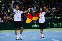 Photo Galleries - Tennis - ATP World Tour - Tommy Haas and Philipp Kohlschreiber (Davis Cup 2014)