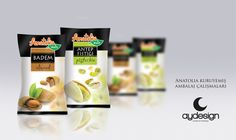 Anatolia Nuts Packaging Designs.