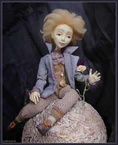 Маленький Принц*** doll, dollart, hand made, ©ambercloud, авторская кукла