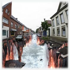 3D street painting- i want to make one of these