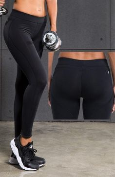 Women s Sport   Workout Leggings Mid Rise Slim Fit 945ee7b1167