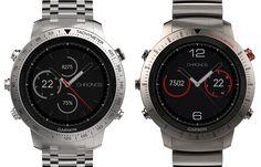 The Fenix Chronos is Garmin's new flagship smart sports watch.. #smartwatch #wearables #GPSwatch