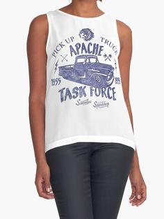 02f665caef65 Chevrolet Apache Truck Task Force Series von SAVALLAS Klassische T Shirts,  Indie Kunst, Königin