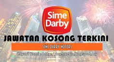 Jawatan Kosong di Sime Darby Motors - 12 Aug 2016   Sime Darby Motors is one of the major automotive players in the Asia-Pacific region with presence in Malaysia Australia China Hong Kong Macau New Zealand Singapore Thailand Vietnam and Taiwan. We are actively involved in the various parts of the value chain such as importation assembly distribution and retail.  Jawatan Kosong Terkini 2016diSime Darby Motors  Positions:  1.Officer MarketingClosing date :12 August 20162. Sales AdvisorClosing…