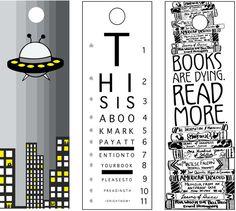 Bookmarks by Dorothy Jeffrey, via Behance