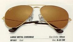 819929ba16 Vintage Ray Ban w1661 Chromax Driving lenses Aviator Sunglasses Bausch and  lomb