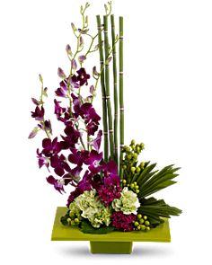 Zen Artistry Flower Arrangement - Teleflora