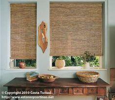 #estores #maderas naturales #wood blinds