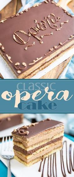 While making Opera Cake from scratch will have you spend a hefty chunk of time i. While making Opera Cake from scratch will have you spend a hefty chunk of time in the kitchen, I swear it's so decad British Baking, British Bake Off, Cupcakes, Cupcake Cakes, Opera Cake, Coffee Buttercream, Cake Recipes, Dessert Recipes, Let Them Eat Cake