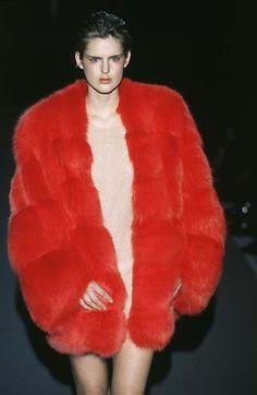 Stella Tennant at Gucci F/W 1997 - Chic As Fuck