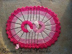 Arte em Crochê por Bruna Frank: Tapete Elos