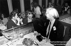 Mick Jagger & Andy Warhol NYC 1976 Photo by Mick Rock