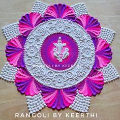 Rangoli Designs Peacock, Rangoli Designs Latest, Simple Rangoli Designs Images, Rangoli Border Designs, Rangoli Designs Diwali, Rangoli Designs With Dots, Mehndi Art Designs, Beautiful Rangoli Designs, Diwali Rangoli