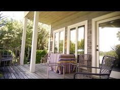 How to Furnish a Small Back Porch | At Home With P. Allen Smith
