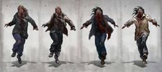 Zombie Apocalypse Outfit, Apocalypse Art, Zombie Cosplay, Human Instincts, First Target, Zombie Art, Concept Art, Sci Fi, Survival