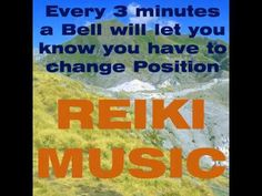 Reiki Music for Reiki Treatments With Bell Every 3 Minutes