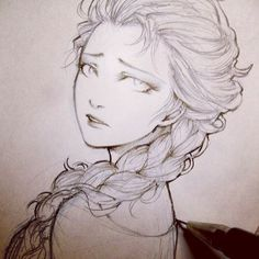 Beautiful!  #hair #braid #illustration #cbdsalon