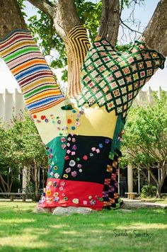 The Biggest Yarnbombing in Oklahoma