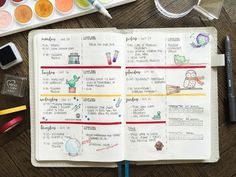 Bullet Journal Plan With Me - Harry Potter July 25-31 - YouTube