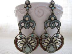 Crystal Bubble Statement Earrings, Cluster Jewelry, Bloom Earrings, Dangle Rhinestone, Stud, Bridal Party, Wedding, Bridesmaid Gift
